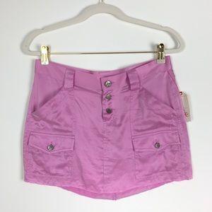 NWT Joie Silk Micro Mini Skirt